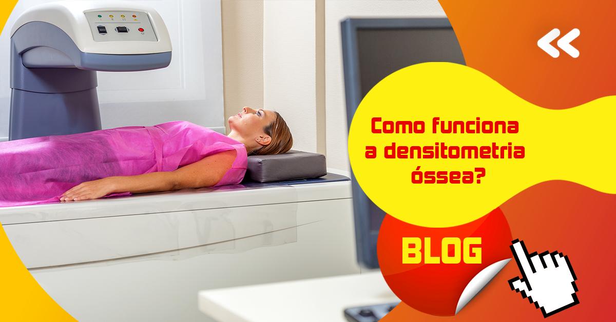 Como funciona a densitometria óssea?